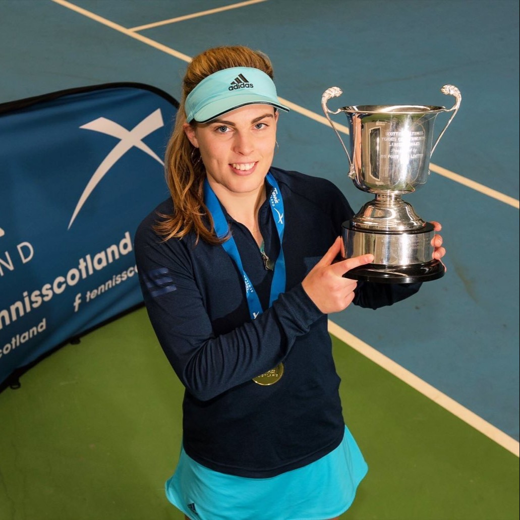 It's been a hugely successful year for tennis scholar, Maia Lumsden.